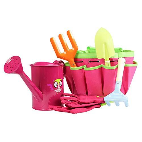 Kindergarten-Werkzeugset mit kindersicherer Schaufel, Rechen, Gabel,...