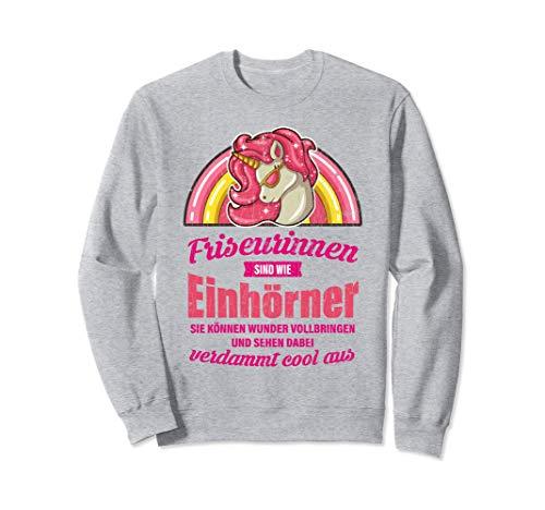 Lustiges Friseurin Geschenk Sprüche Frisöse Frisörin Sweatshirt