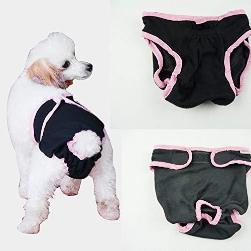 MYYXGS Hundephysiologie Hose Haustier HüNdin Physiologie Hose Hund Windeln...
