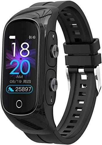 TYX-SS Smart Bracelet Drahtlose Bluetooth-Kopfhörer Fitness Tracker Uhr...