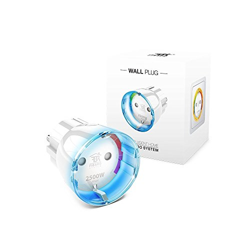 FIBARO Wall Plug / Z-Wave Plus Smart Steckdose Plug mit Leistungsmessung Typ F,...