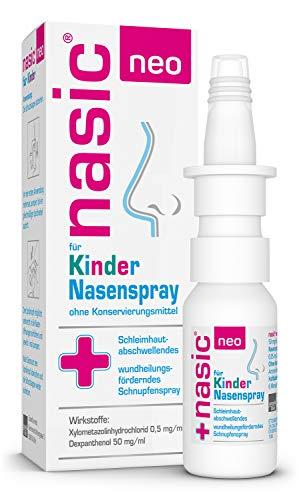 nasic neo für Kinder Nasenspray mit dem WirkPlus – Abschwellendes...