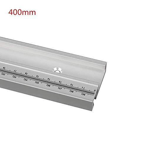 belupai 400mm Aluminiumlegierung T-Schiene Holzbearbeitung T-Nut Gehrungsschiene...