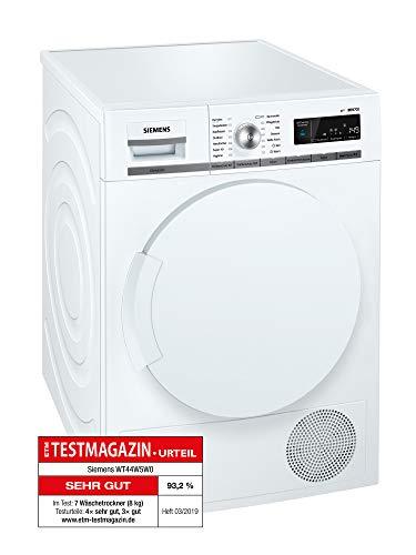 Siemens iQ700 WT44W5W0 iSensoric Premium Wärmepumpentrockner / A+++ / 8 kg /...