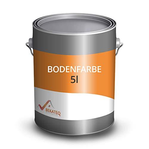 BEKATEQ BE-700 Betonfarbe Lichtgrau, 5 l Bodenbeschichtung & Fußbodenfarbe für...