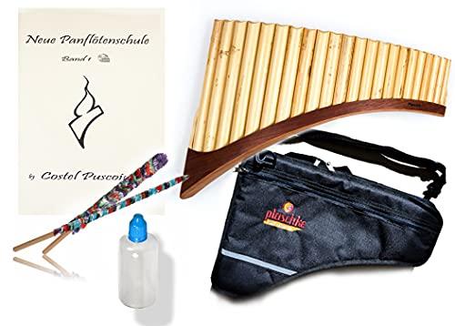 Panflöten SET S22-Töne/Rohre in G-Dur Panflöte, Indianische Flöte &...