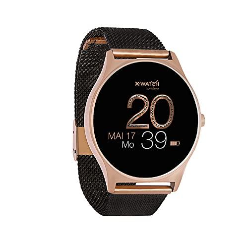 X-WATCH JOLI XW PRO-Smartwatch Damen iOS/iPhone-Fitnessuhr-Android mit Whatsapp...