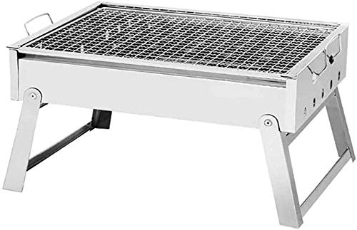 KAYBELE Edelstahl Holzkohle Barbecue Grill Outdoor Kochen Camping Picknicks...