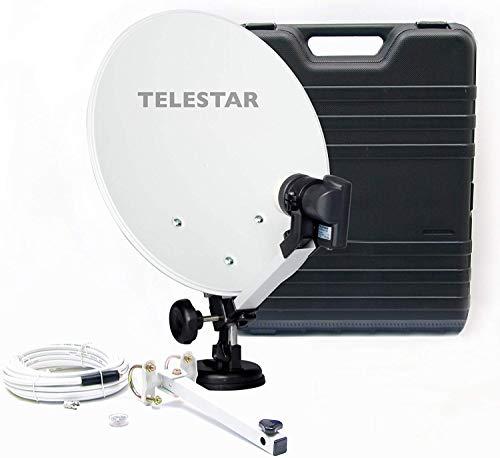 Telestar Camping-Sat-Anlage (Hartschalenkoffer, 13,7 Zoll (35 cm) Spiegel ,...
