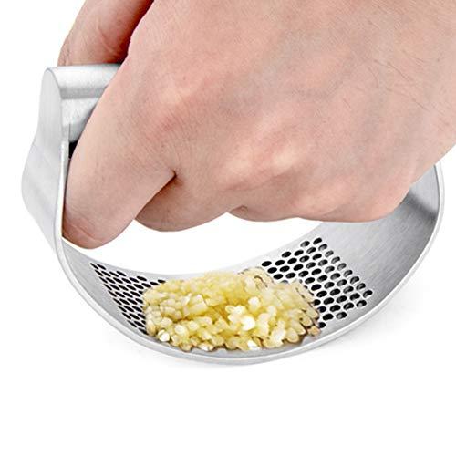 TXYFYP Knoblauchpresse,Küche Knoblauch Manuelle Schleifwerkzeuge,leicht zu...