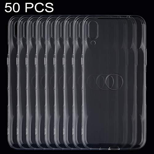 N\A Handy-Fälle 50 PCS 0,75 mm ultradünne transparente TPU weiche Schutzhülle...