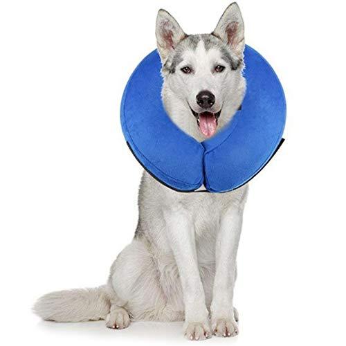 PET SPPTIES aufblasbar Halsband für Haustier Hund Katze bequem weich Recovery...