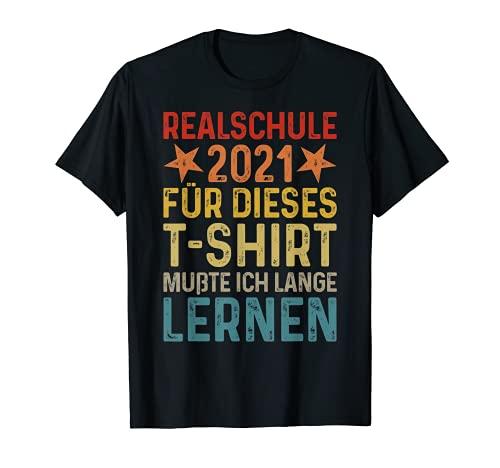 Abschluss Grundschule 2021 5. Klasse Kinder Realschule 2021 T-Shirt