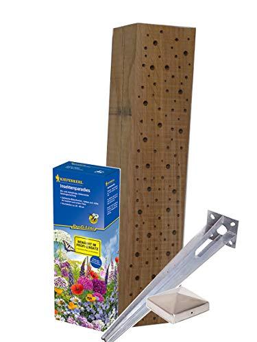 Die Gartenbeet-Kiste Komplettset 30m² Insektenparadies