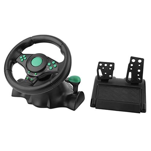 180-Grad-Drehung Gaming Vibration Racing-Lenkrad mit Pedalen für die Xbox 360...