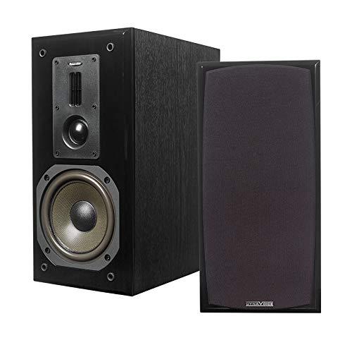 Dynavoice – Paar Stereo-Lautsprecher Ref. Definition DM-6. Farbe: schwarz