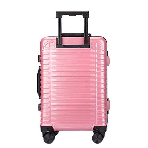 Leichte Hartschalen-Koffer, PC Material Einfache Trolley, Mode Crossbar Helle...