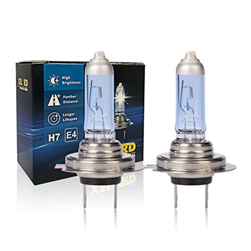 H7 Halogen Lampe Auto 55W 12V Halogen-Scheinwerferlampe Glühbirne H7...
