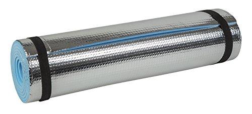 Idena 38193 - Isomatte mit Aluminiumbeschichtung, ca. 50 x 180 cm, ca. 7 mm...
