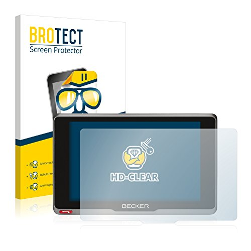 BROTECT Schutzfolie kompatibel mit Becker Active.7sl EU (2 Stück) klare...