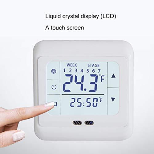 Ahagut Raumthermostat LCD Digitalthermostat elektronischer...