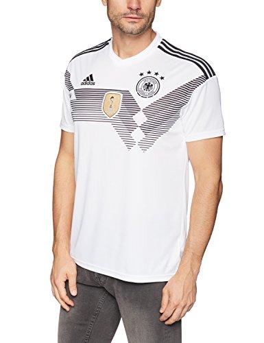 adidas Herren Dfb Home 2018 Trikot, Weiß (White/Black), L EU
