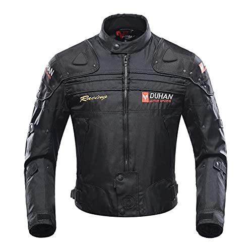 BORLENI Motorradjacke Herren Motorrad Jacke Winddicht mit Protektoren...