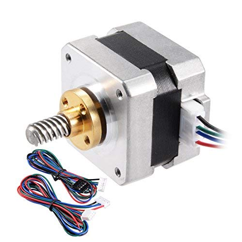 Schrittmotor 17 Bipolar 25mm 0,56NM 1,5A 2,5 V 4 Kabel für 3D Drucker CNC...