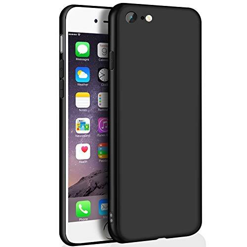 Whew iPhone 6S Schutzhülle, iPhone 6 hülle, Ultra Dünn Schwarz Matt Weiche...