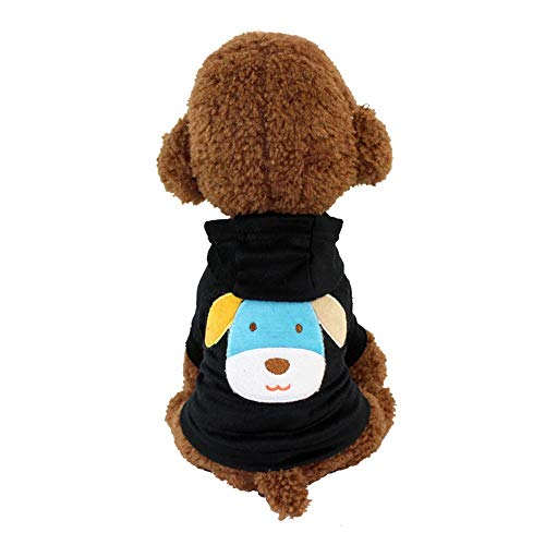 YABAISHI Haustier-Kleidung Polyester mit Kapuze T-Shirt Katzen-Hunde-Bekleidung...