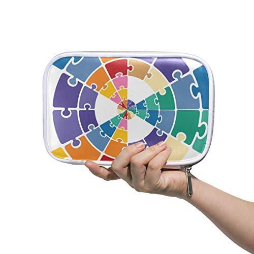 LORONA Puzzleteile, Federmäppchen, Kosmetiktasche, große Kapazität,...