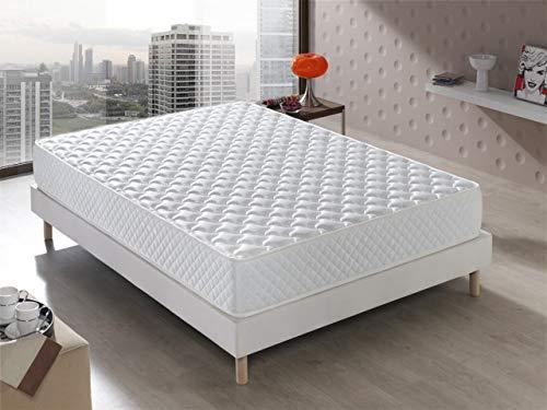 Viskoelastische Matratze Modell Senator, Hotelkomfort, wendbar (Winter/Sommer),...
