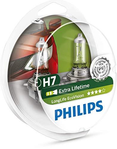 Philips 12972LLECOS2 LongLife EcoVision H7 Scheinwerferlampe Kit