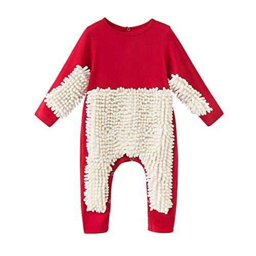 N/AA Amuse-MIUMIU Baby Langarm Mop Strampler Outfit Lustiger Baby Kleidung...