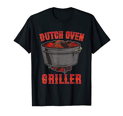 Dutch Oven Feuertopf Dopfen Griller Geschenkidee BBQ T-Shirt