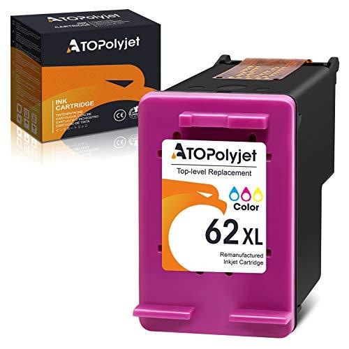 ATOPolyjet Remanufactured 62XL Tintenpatrone Ersatz für HP 62 XL für HP Envy...