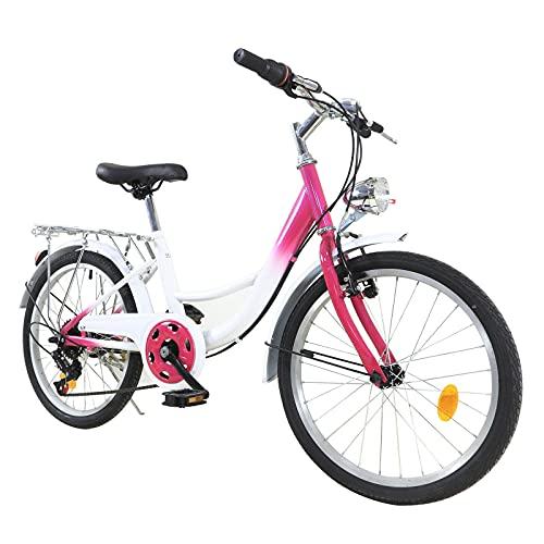 Kinderfahrrad - 20 Zoll Fahrrad für Kinder Cruiser,Jugendfahrrad für Jungen...