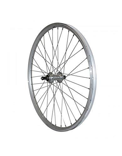Motodak Rad, MTB, 24 Zoll, hinten, Aluminium, silberfarben, doppelwandig, MOY...