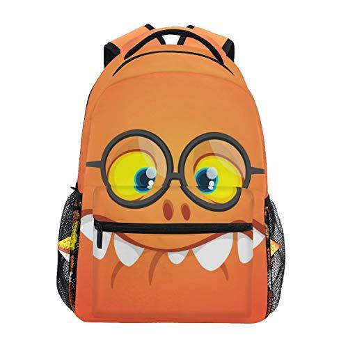 GraciasU Rucksäcke/Büchertasche/Tagesrucksack, lustiges Halloween-Monster für...