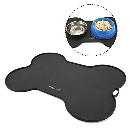 RoyalCare Silikon Futtermatte für Hund, Premium Napfunterlage aus Silikon für...