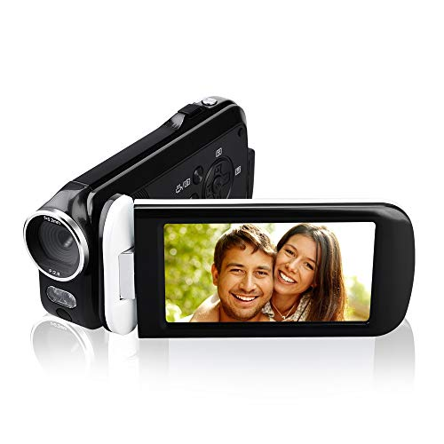 Videokamera Camcorder, JmeGe 24MP HD 1080P Digital Videokamera 3.0''' HD Touch...