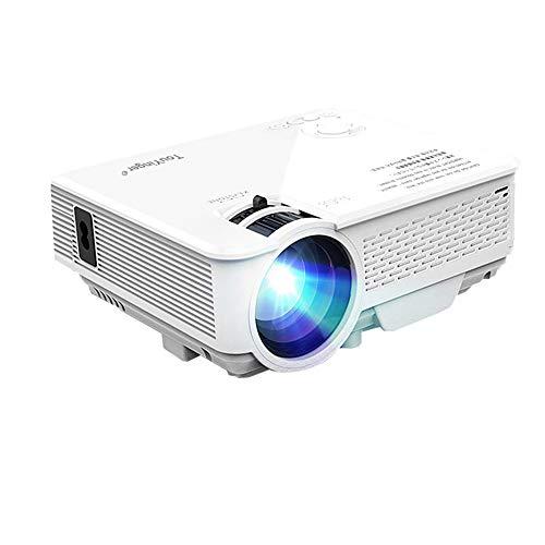 JINSE Mini-led-projektor, 800x480, Compatible Full Hd-Beamer Für Heimkino,...