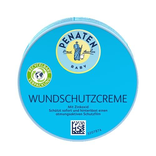 Penaten PENATEN Wundschutzcreme, beruhigende Baby Wundschutz Creme mit Zinkoxid...
