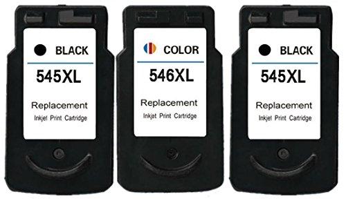 Printing Pleasure 3 XL Druckerpatronen für Canon Pixma MG2450 MG2550 MG2550S...