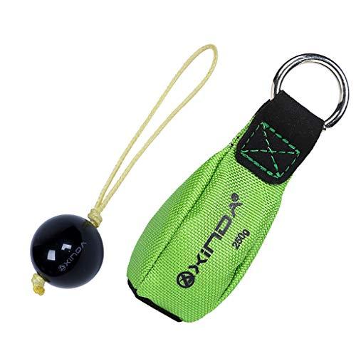 SDENSHI Arborist 1 '' Retriever Ball Rope Guide + 250g 8.8oz Wurfgewichtstasche