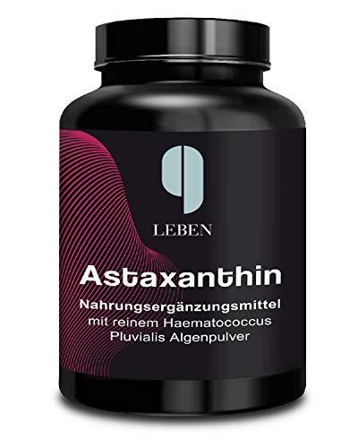 Astaxanthin 6 mg hochdosiert   6 Monatsvorrat   180 Kapseln vegan   natürlich...