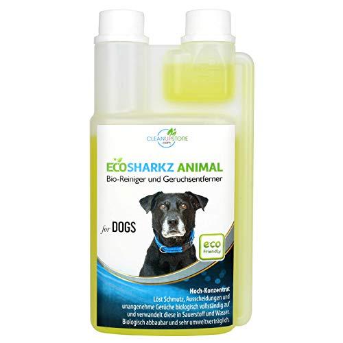 Ecosharkz Geruchsneutralisierer für Hunde - natürlicher Geruchskiller -...