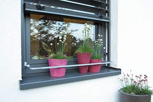 Blumenkastenhalterung Blumenkasten Blumenkastenhalter Verstellbar OHNE BOHREN