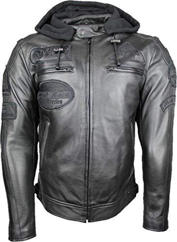 Urban Leather FIFTY EIGHT Gents   Leder Motorradjacke   Vollständig entfernbare...