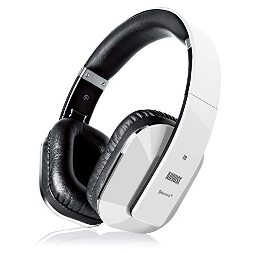 August EP650 - Bluetooth Kopfhörer v4.2 NFC mit aptX Low Latency - Stereo Over...